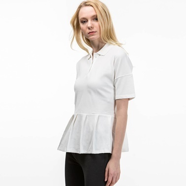 Lacoste Kadın  Tişört PF1803.70V Beyaz